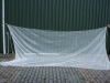9 Koi vijver net - Koi Vijvernet 9 m lang 2.20 diep ( v. vijver 7  meter )
