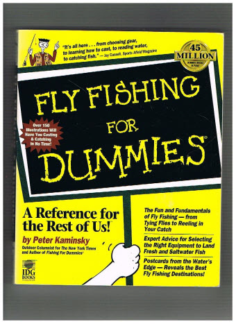 Peter kaminsky fly fishing for dummies visboeken for Fly fishing for dummies