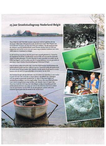 Jan Eggers 25 Jaar Snoekstudiegroep Ned België Visboeken