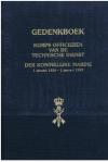 Div. - Gedenkboek Korps Officieren van de Technische Dienst der Koninklijke Marine